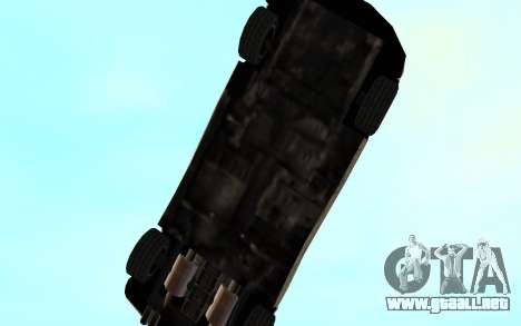 GTA 3 Infernus SA Style v2 para la vista superior GTA San Andreas