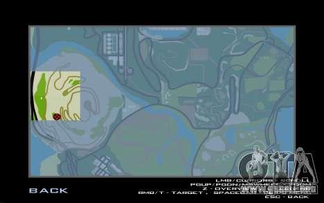 La cascada de v0.1 Beta para GTA San Andreas sexta pantalla