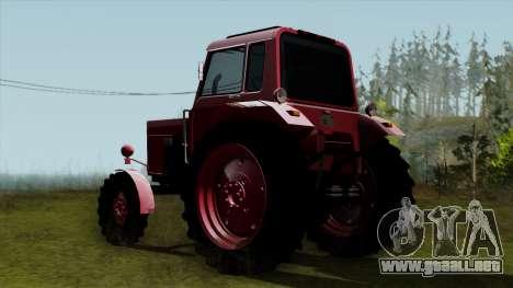 Tractor MTZ80 para GTA San Andreas left