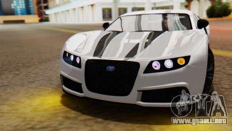 GTA 5 Adder Tire Dirt para la visión correcta GTA San Andreas