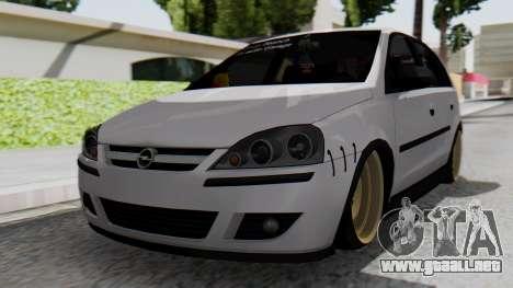 Opel Corsa Air para GTA San Andreas