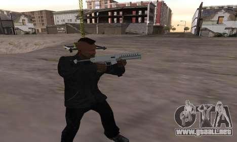 Combat PDW from GTA 5 para GTA San Andreas segunda pantalla