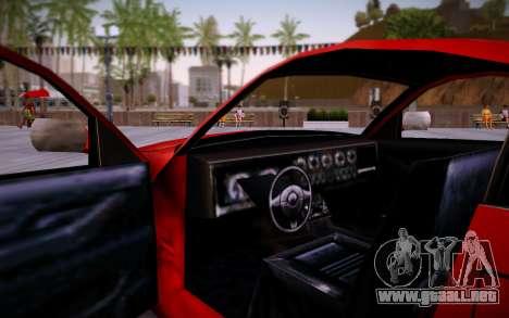 Nissan 350Z SA Style para la visión correcta GTA San Andreas