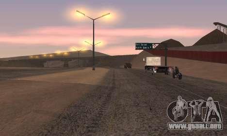 Las luces de San Fierro, Las Venturas para GTA San Andreas sucesivamente de pantalla