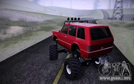 Huntley Monster v3.0 para GTA San Andreas left
