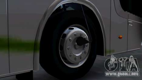 Busscar Elegance 360 para GTA San Andreas vista posterior izquierda