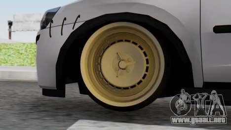 Opel Corsa Air para GTA San Andreas vista posterior izquierda