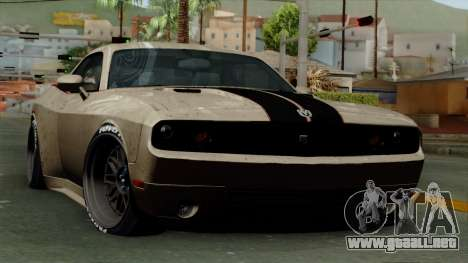 Dodge Challenger GT S para GTA San Andreas