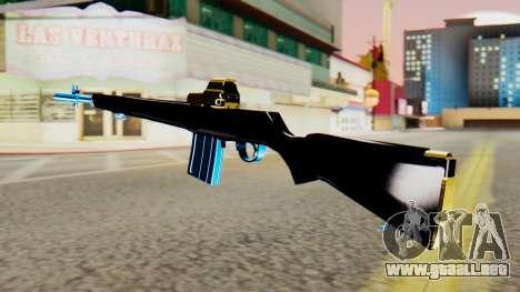 Fulmicotone Rifle para GTA San Andreas segunda pantalla
