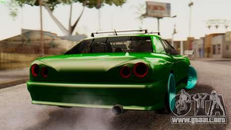 Elegy Korch New Wheel para GTA San Andreas left