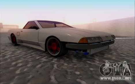 Elegy Pickup By Next para la visión correcta GTA San Andreas