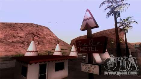 El Sherman De La Presa para GTA San Andreas segunda pantalla