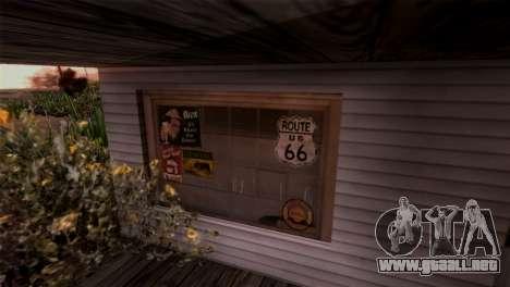 El Sherman De La Presa para GTA San Andreas sucesivamente de pantalla