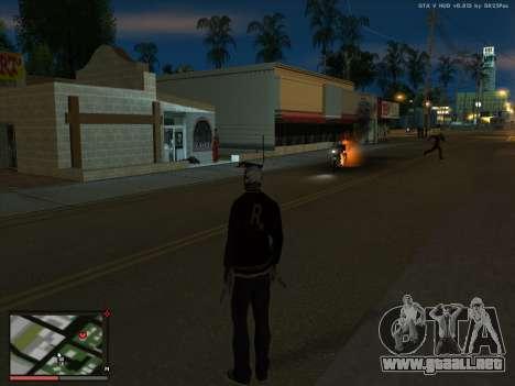Locura en el estado de San Andreas. La Beta. para GTA San Andreas tercera pantalla