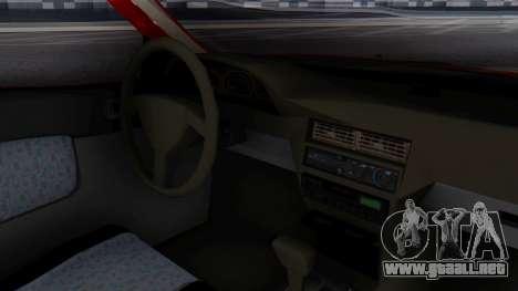 Toyota Starlet 5P 1.3L 1998 para la visión correcta GTA San Andreas