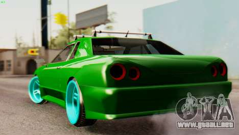 Elegy Korch New Wheel para GTA San Andreas vista posterior izquierda