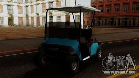 E-Z-GO Golf Cart v1.1 para GTA San Andreas