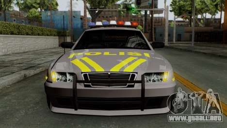 Indonesian Police Type 1 para la vista superior GTA San Andreas