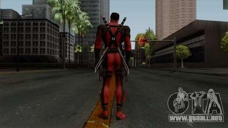 Deadpool without Mask para GTA San Andreas tercera pantalla