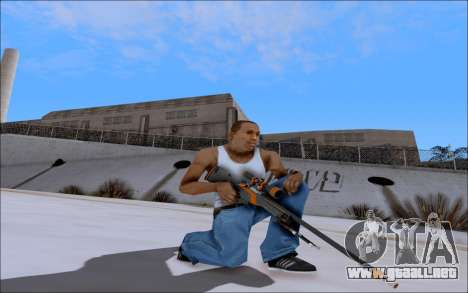 AWP Carbone Edition para GTA San Andreas segunda pantalla