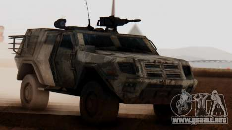 BAE Systems JLTV Extra Skin para GTA San Andreas