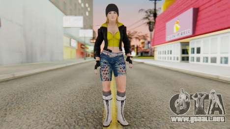 Dancing Girl para GTA San Andreas segunda pantalla
