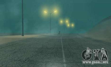 Las luces de San Fierro, Las Venturas para GTA San Andreas segunda pantalla