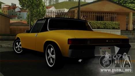 Porsche 914 1970 para GTA San Andreas left