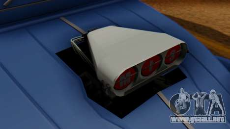 Citroen 2CV (jian) Drag Style Edition para la visión correcta GTA San Andreas