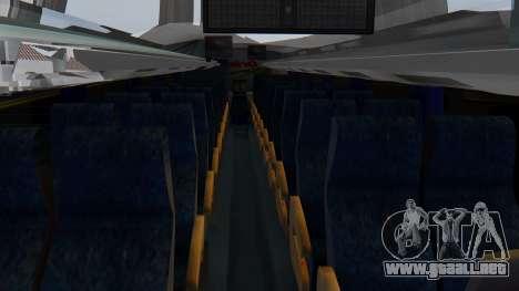Busscar Elegance 360 para GTA San Andreas vista hacia atrás