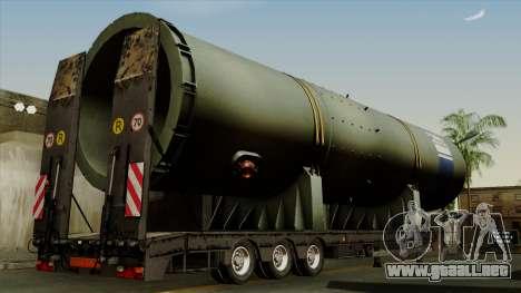 Trailer Cargos ETS2 New v3 para GTA San Andreas left