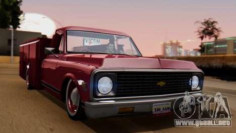 Chevrolet C10 Utility para GTA San Andreas