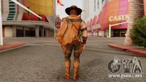 Erron Black [MKX] para GTA San Andreas tercera pantalla
