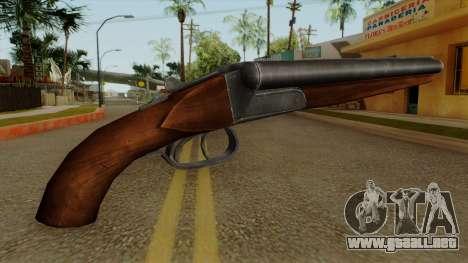 Original HD Sawnoff Shotgun para GTA San Andreas segunda pantalla