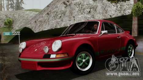 Porsche 911 Carrera RS 2.7 Sport (911) 1972 IVF para GTA San Andreas