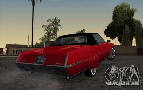 ENBSeries For Low PC v5.0 para GTA San Andreas sucesivamente de pantalla