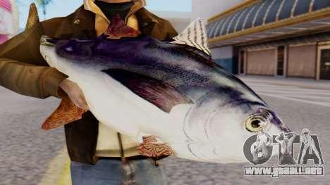 Tuna Fish Weapon para GTA San Andreas tercera pantalla
