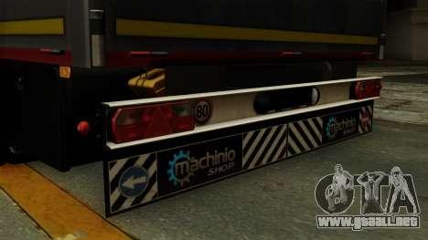 Flatbed3 Red para la visión correcta GTA San Andreas
