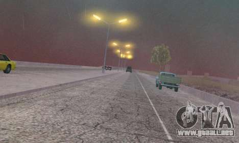 Las luces de San Fierro, Las Venturas para GTA San Andreas séptima pantalla