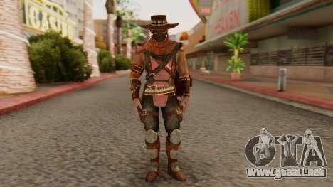 Erron Black [MKX] para GTA San Andreas segunda pantalla