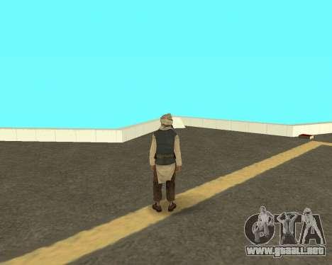 Nueva armeec para GTA San Andreas segunda pantalla
