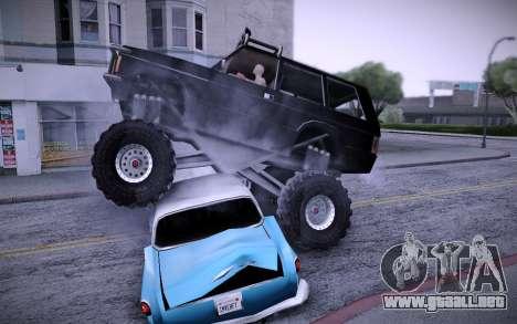 Huntley Monster v3.0 para la visión correcta GTA San Andreas