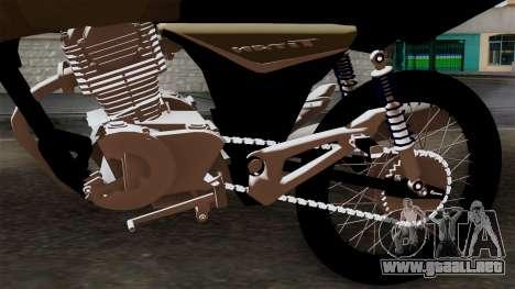 CB1 Stunt Imitacion para GTA San Andreas vista hacia atrás