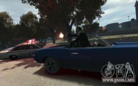 Declasse Vigero Cabrio para GTA 4 visión correcta