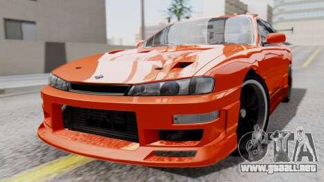 Nissan Silvia S14 (240SX) Fast and Furious para GTA San Andreas
