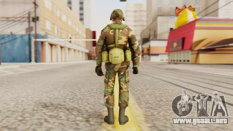 Soldados del ejército de los estados UNIDOS para GTA San Andreas tercera pantalla