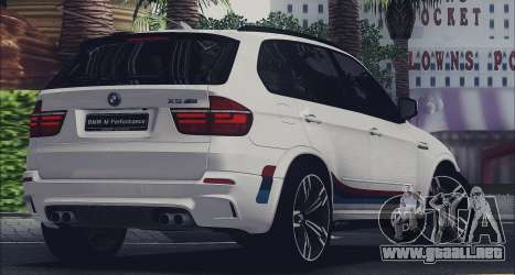 BMW X5M MPerformance Packet para GTA San Andreas left