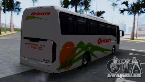 Busscar Elegance 360 para GTA San Andreas left
