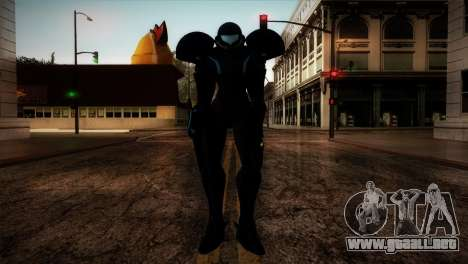 Dark Samus para GTA San Andreas segunda pantalla
