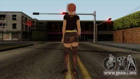 RE Dead Or Alive 5LR - Honoka C5 para GTA San Andreas tercera pantalla